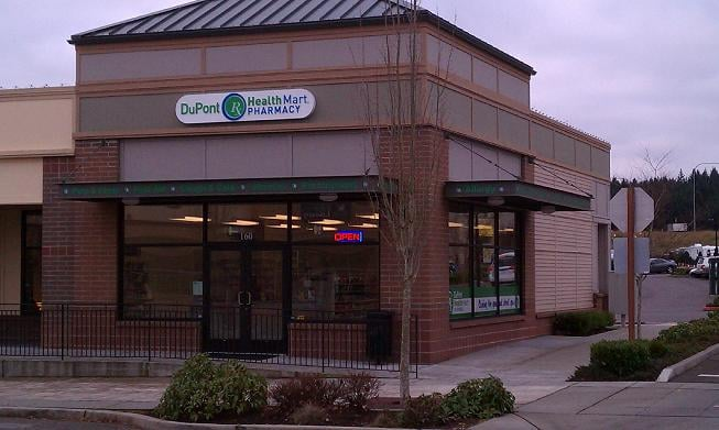 DuPont Health Mart Pharmacy: 1545 Wilmington Dr, DuPont, WA