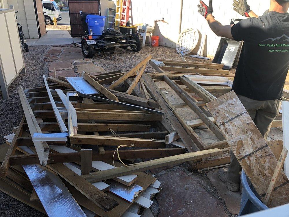 Four Peaks Junk Removal: 3035 W Cottonwood Ln, Phoenix, AZ
