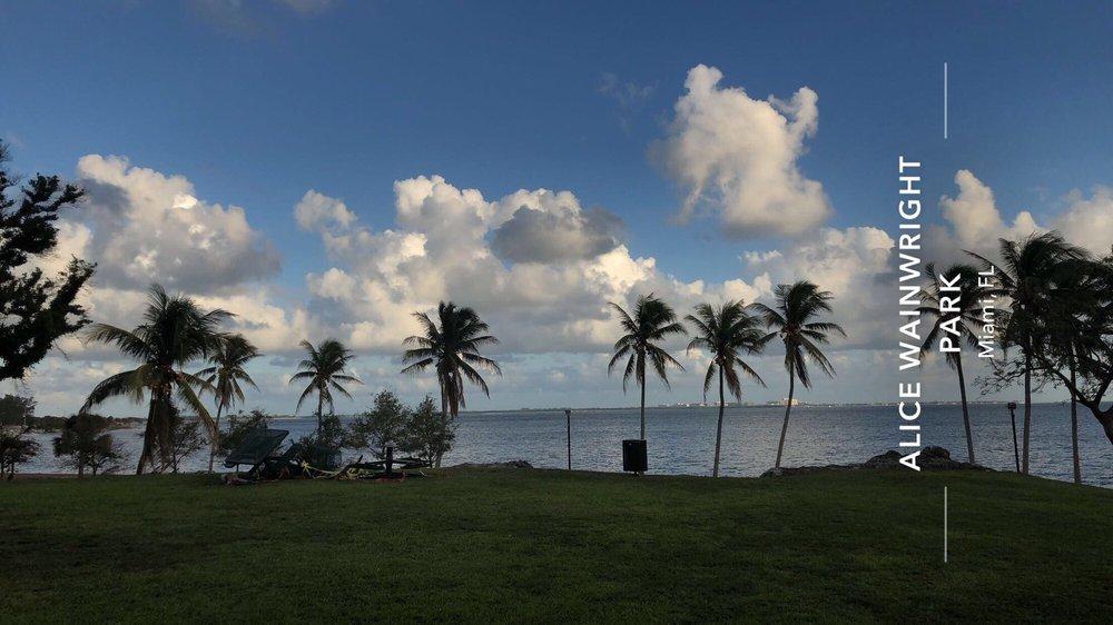 Alice C. Wainwright Park: 2845 Brickell Ave, Miami, FL
