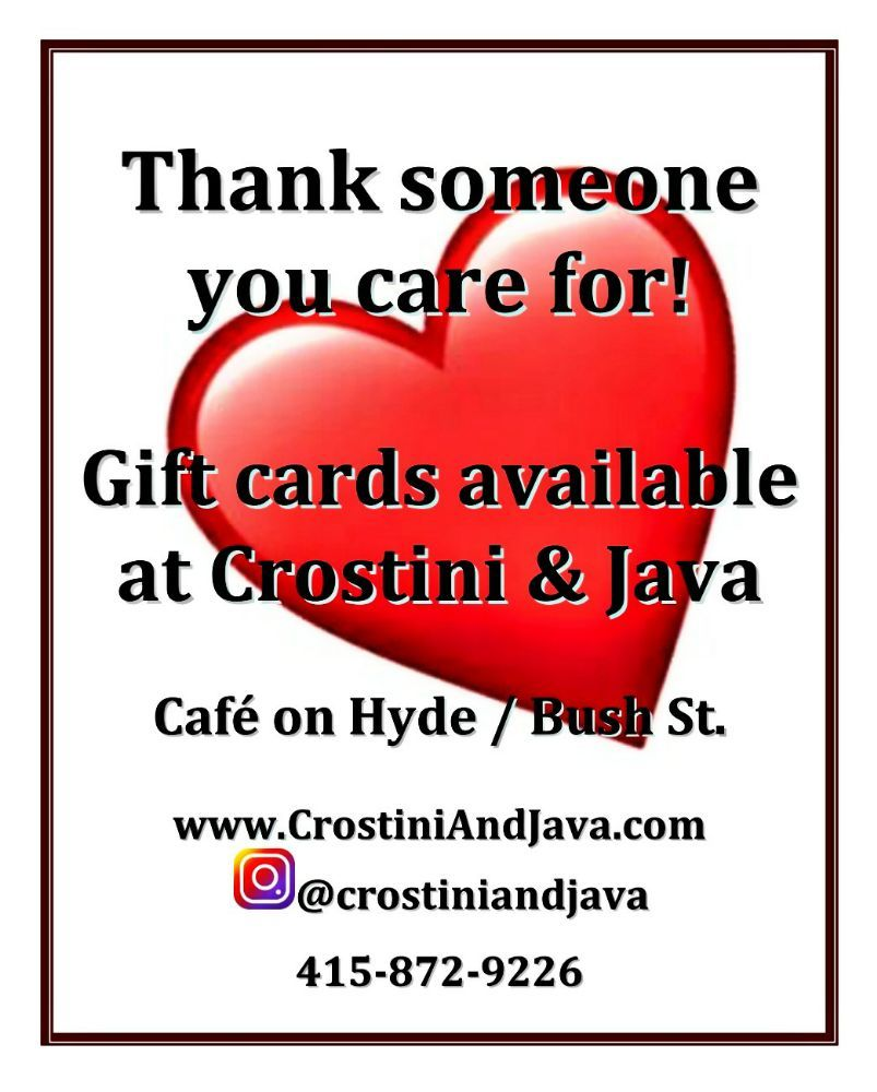 Crostini & Java