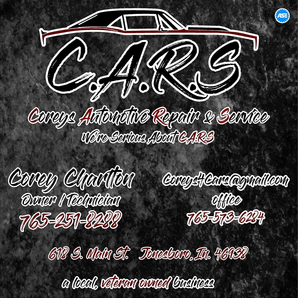 Corey's Automotive Repair and Service: 618 S Main St, Jonesboro, IN