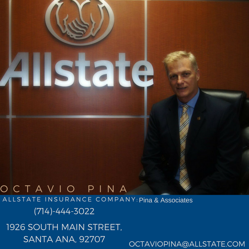 Allstate Get A Quote Phone Number: Allstate Insurance Agent: Octavio R E Pina