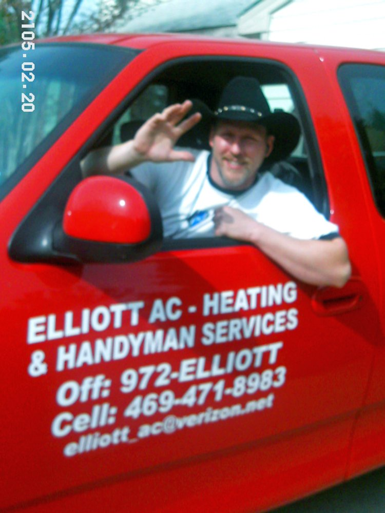 Elliott ac heating and handyman services heating air for Family handyman phone number