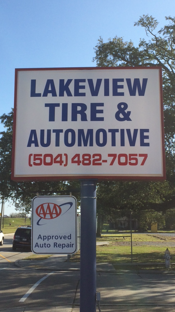 Lakeview tire automotive garages 1656 robert e lee for Garage orleans auto