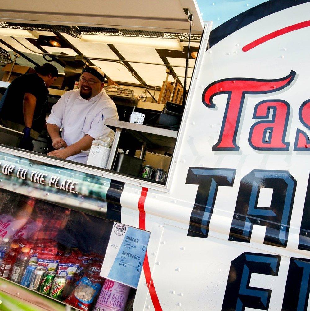 Taste Of Target Field Food Truck