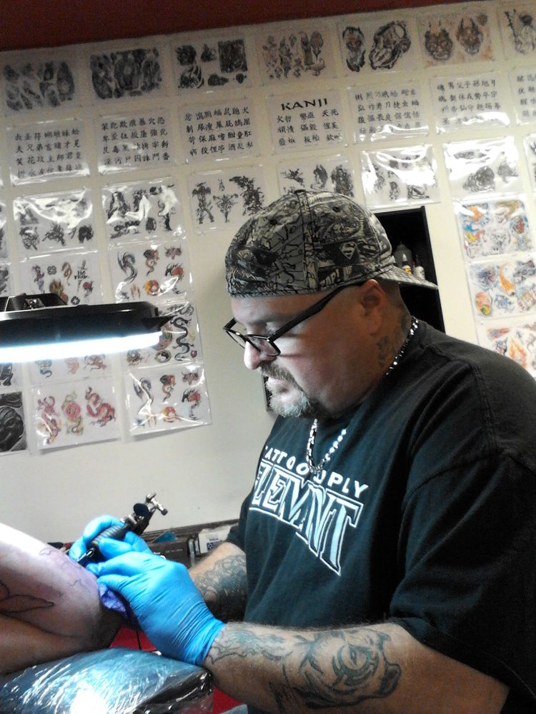 Bulletproof tattoo company art galleries 7704 s 36th for Tattoo artist in fort lauderdale