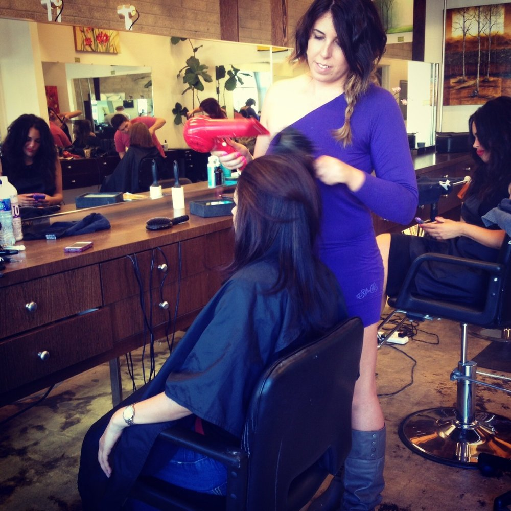 Erica jacobsen 13 photos 19 reviews hair stylists for A salon paul mitchell san diego