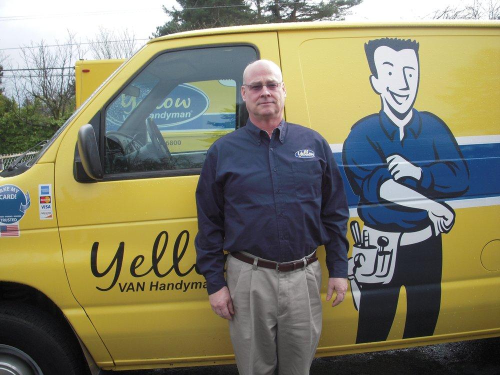 Yellow van handyman handyman 2208 scottingham dr for Family handyman phone number