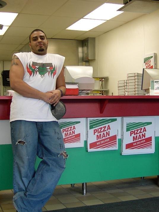 pizza man 17 reviews pizza 2744 douglas dr n. Black Bedroom Furniture Sets. Home Design Ideas