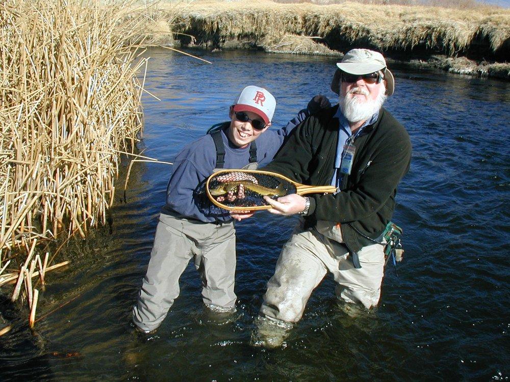 Bishop flyfishing guide service tours 4801 alison ln for Bishop ca fishing