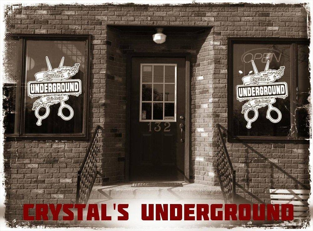 Crystals Underground Hair Design