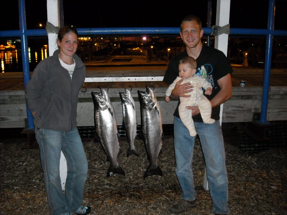 Rippling waters sport fishing get quote boat charters for Kewaunee fishing report