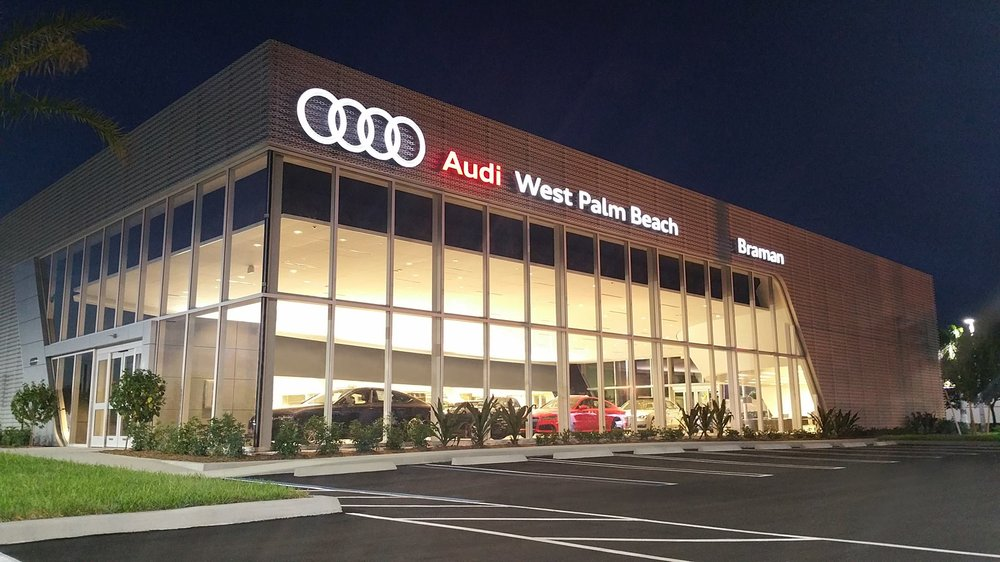 audi west palm beach 11 photos 42 reviews car dealers 2101 okeechobee blvd west palm. Black Bedroom Furniture Sets. Home Design Ideas