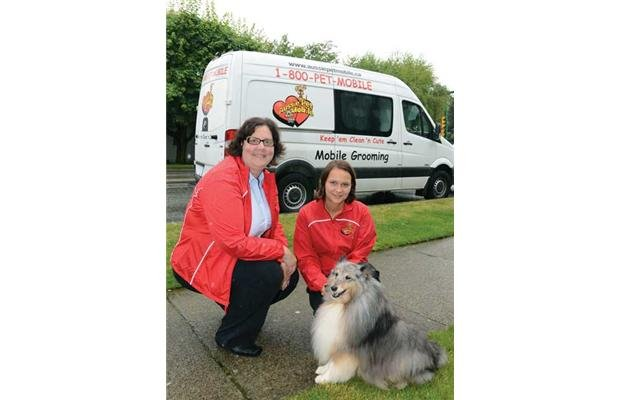 Mobile Dog Grooming Burnaby