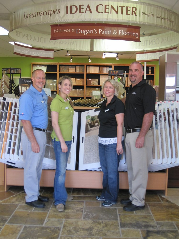 Dugan s paint flooring centers 31 photos flooring for Chuck s hardwood flooring