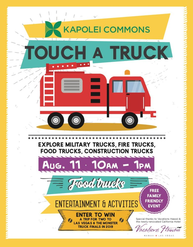 Touch A Truck, Kapolei | Events - Yelp