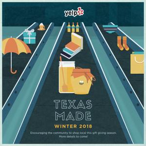 Yelp's Texas Made 2018