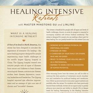 Qigong Healing Intensive retreat with Master Mingtong Gu