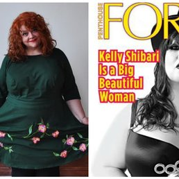 1 Photo For Penthouse Celebrity Kelly Shibari And Adipositivity Founder Substantia Jones At Curvy Girl