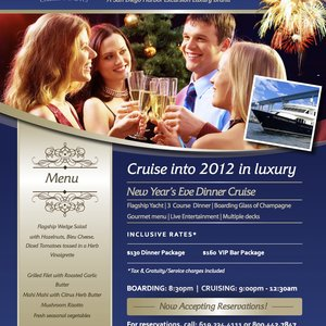 New Year S Eve Dinner Cruise With Flagship Cruises And Events San