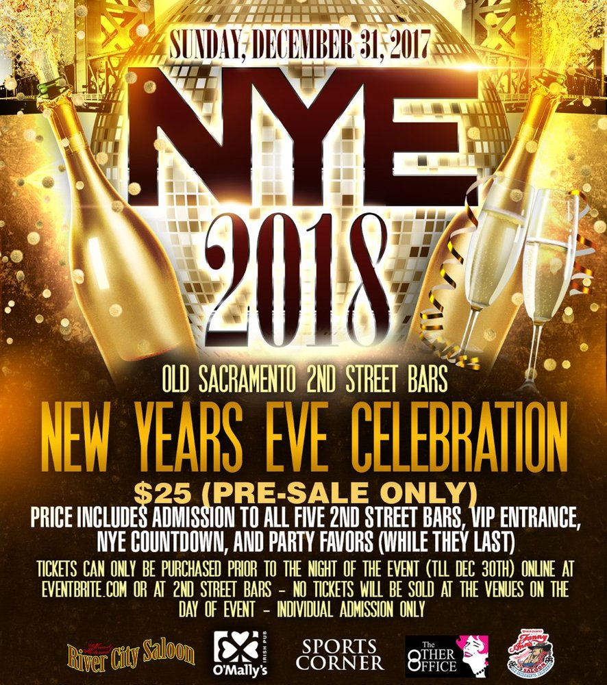 New Years Eve Events Near Me
