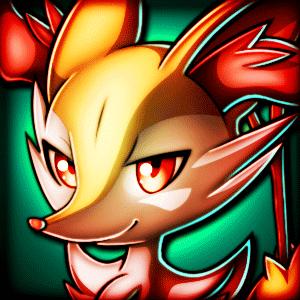 Braixen-Chan-Warrior 4.